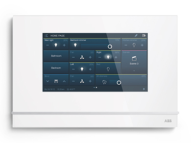 smart touch frontal abb en white